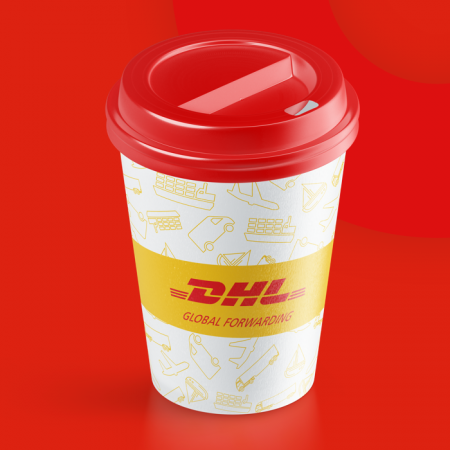 DHL Coffee Cup Design